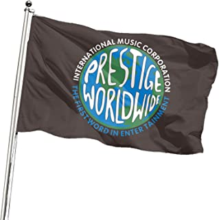 Prestige Worldwide Flag 3x5Ft Banner for College Dorm,Room Decor,Outdoor,Parties,Gift,Tailgates