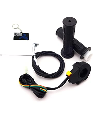 12V Universal Waterproof Push-Button On-Off Switch with 4 Leads for Motorcycle//Car Madezz 5 Pcs Push Button Switch