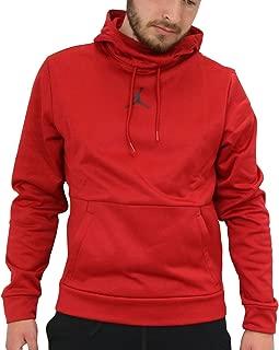 Jordan Men's Therma 23 Alpha Training Pullover Hoodie - Gym Red/Black - 861559-687 - SZ. Large
