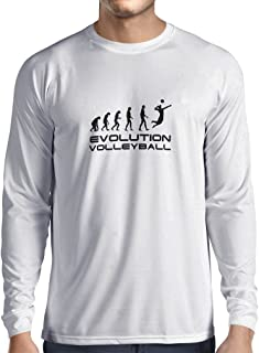 Men's T-Shirt The History and Evolution of Volleyball Game