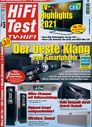 """Hifi Test 2/2021 \""""Der beste Klang vom Smartphone\"""""""
