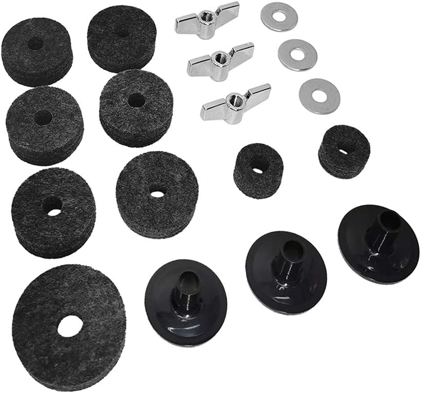 security 18 Pieces Cymbal Replacement Hi-Hat 5% OFF Clu Felts Accessories
