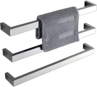 FWec Toallero Calefactor para Cuarto de baño, Calentador de servilletas eléctrico fijado a la Pared, Barras portatiles para Toallas Calientes para Cocina Duradera