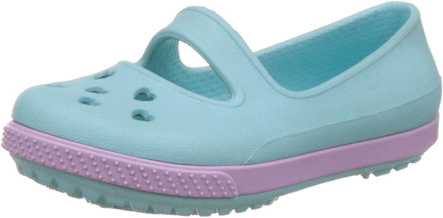 Crocs Girls' Crocband Airy Hearts Flat PS