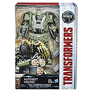 Transformers- Movie 5 Premier Voyager - Figura Decorativa, diseño de Perro (Hasbro C2357ES1)