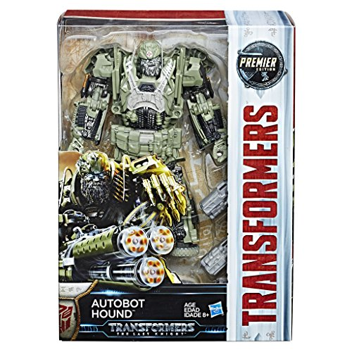 Transformers C2357ES1 Movie 5 Premier Voyager Autobot Hound, Actionfigur