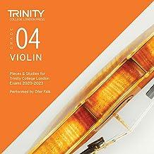 Trinity College London Violin Exam Pieces 2020-2023: Grade 4 CD
