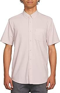Men's Everett Oxford Modern Fit Woven Short Sleeve Shirt