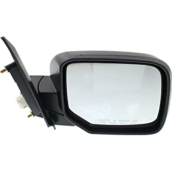 Make Auto Parts Manufacturing Passenger Right Side Power Operated Door Mirror Primed For Honda Pilot 2009 2010 2011 2012 2013 2014 2015 - HO1321265