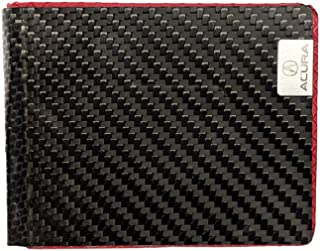 product image for Common Fibers Real Carbon Fiber Acura Edition Bifold Mens Wallet - Official Licensed Product