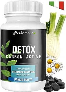 HerbAmour DETOX CARBON ACTIVE I 120 Pastillas Carbón