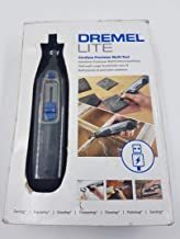 Dremel Lite 7760 Cordless Rotary Tool Li-Ion 3.6 V, Multi Tool Kit with 15 Accessories, Variable Speed 8,000-25,000 RPM fo...