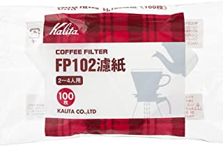 Kalita Paper Coffee Filter FP102[2-4persons] White 100sheets[Japan Import]