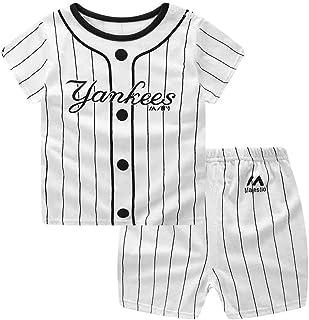 Babysbreath17 Pantalones Muchacha de la Historieta del bebé 2pcs Top Corto de Algodón Manga Corta Camiseta Trajes Set