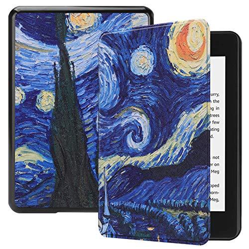 Lobwerk Custodia per Kindle Paperwhite 10. Generation 2018 - Smart Cover per e-Book Reader da 6