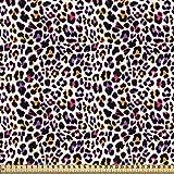 ABAKUHAUS afrikanisch Gewebe als Meterware, Leopard