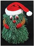 Tanzende und singende Weihnachtsfiguren, batteriebetrieben (Weihnachtsbaum)