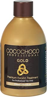 Cocochoco Professional Gold Premium Keratyna kuracja włosów, 250 ml