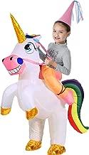 YEAHBEER Unicorn Costume Inflatable Suit Halloween Cosplay Fantasy Costumes