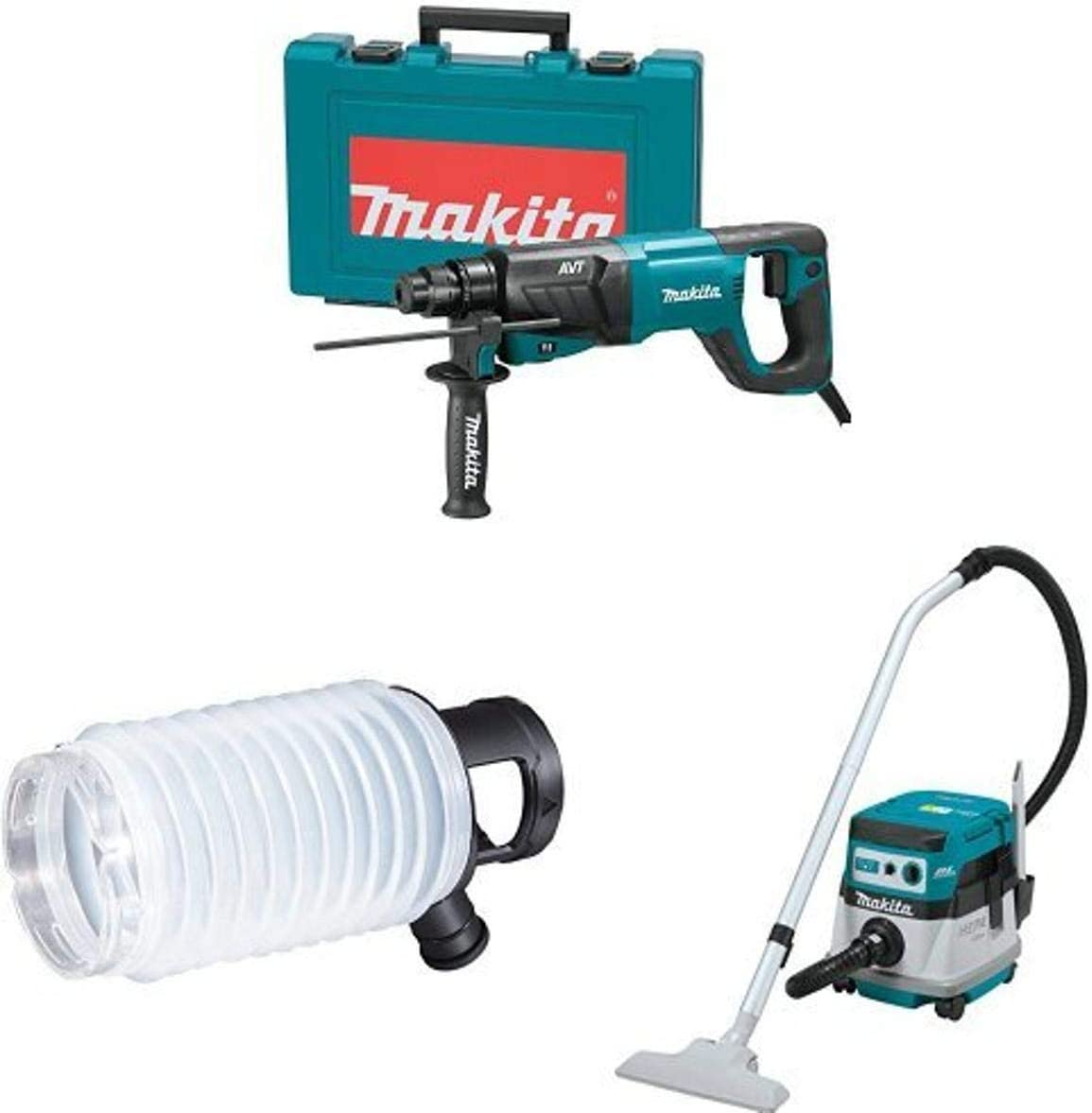 Makita HR2641 1-Inch Bargain sale AVT Rotary SDS-PLUS Bombing free shipping bits Hammer accepts D