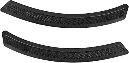 RUNMADE EVO 10 X Style PP Mesh Front Fender Side Vent Cover for 08-15 Mitsubishi Lancer (Pack of 2)