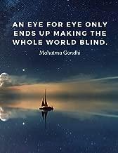 Best mahatma gandhi quotes an eye for an eye Reviews