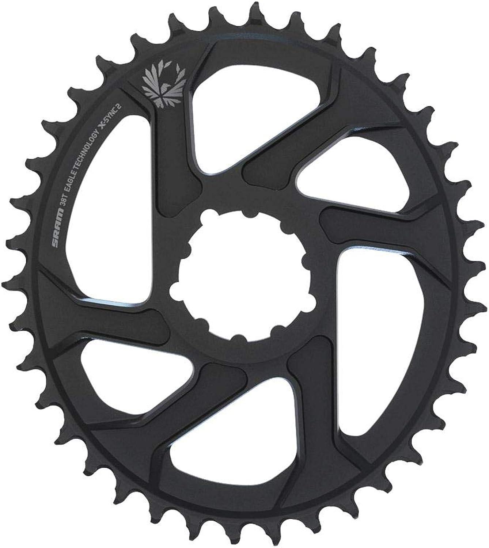 SRAM XSYNC 2 Oval Chainrings 6mm Offset black Design 38T 2018 mountain bike chainrings