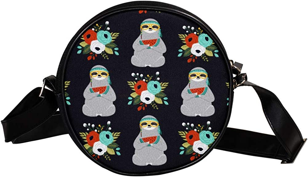 Coin Purse For Kids Sloth Eating Bag Popular products Mini Max 83% OFF Crossbody G Watermelon