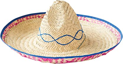 Rubie's Costume Embroidered Straw Sombrero
