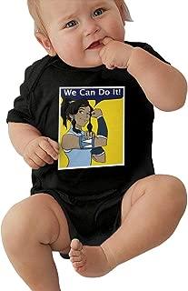 Lemonationop Avatar The Last Legend Airbender of Korra Aang Baby Unisex Jersey Bodysuit Black