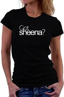 Got Sheena? 女性の Tシャツ