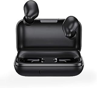 Auriculares inalámbricos con capacidad de batería de 2200 mAh, Haylou T15 HD estéreo con aislamiento de ruido Bluetooth