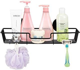 SANNO シャンプーラック シャワーラック 浴室ラック シャンプー置き 壁掛け収納ラック ワイヤーかご お風呂 真空吸着 強力吸盤 ステンレス…