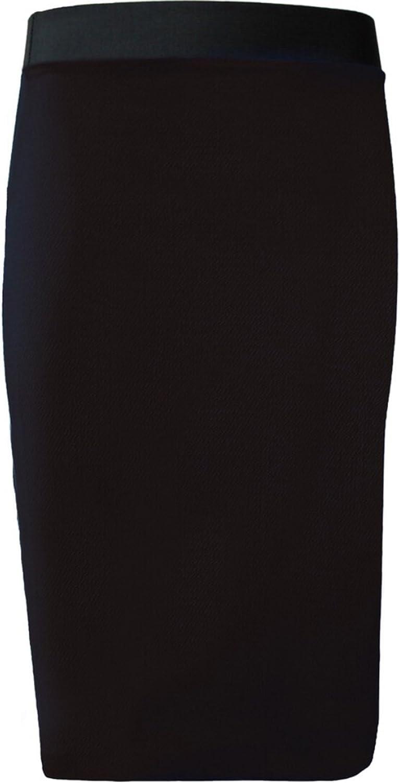 Girls Walk Women's Plain Office Bodycon Midi Pencil Skirt