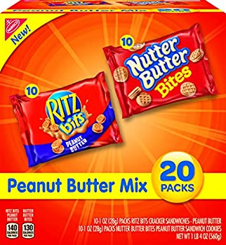 20-Pack Nabisco Peanut Butter & Nutter Butter Bites Variety Pack