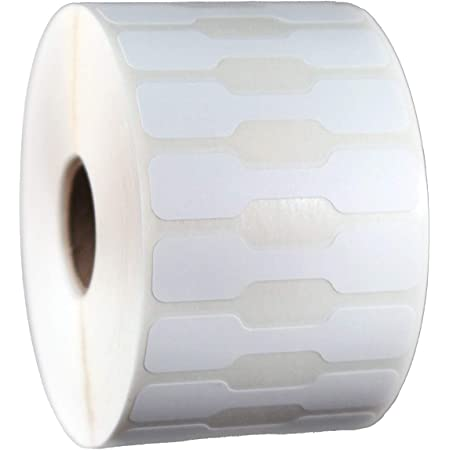 Dumbell Jewelry Labels for Zebra/Eltron/Go-Dex Printers
