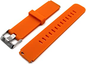 MOTONG Replacement Band for Huawei Fit Smart Fitness Watch,Come with Quick Release (Silicone Orange)