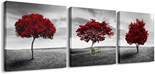 Canvas Wall Art Painting Decor-Panoramic black and white mangrove- 12