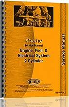 New Kohler 2 Cyl Engines Manual