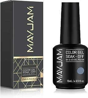 MAYJAM Baby Blue Gel Nail Polish 15ml/0.5fl.oz Varnish Soak Off Nail Gel Polish