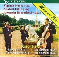 Haydn: Trios Nos 24, 25, 27 &