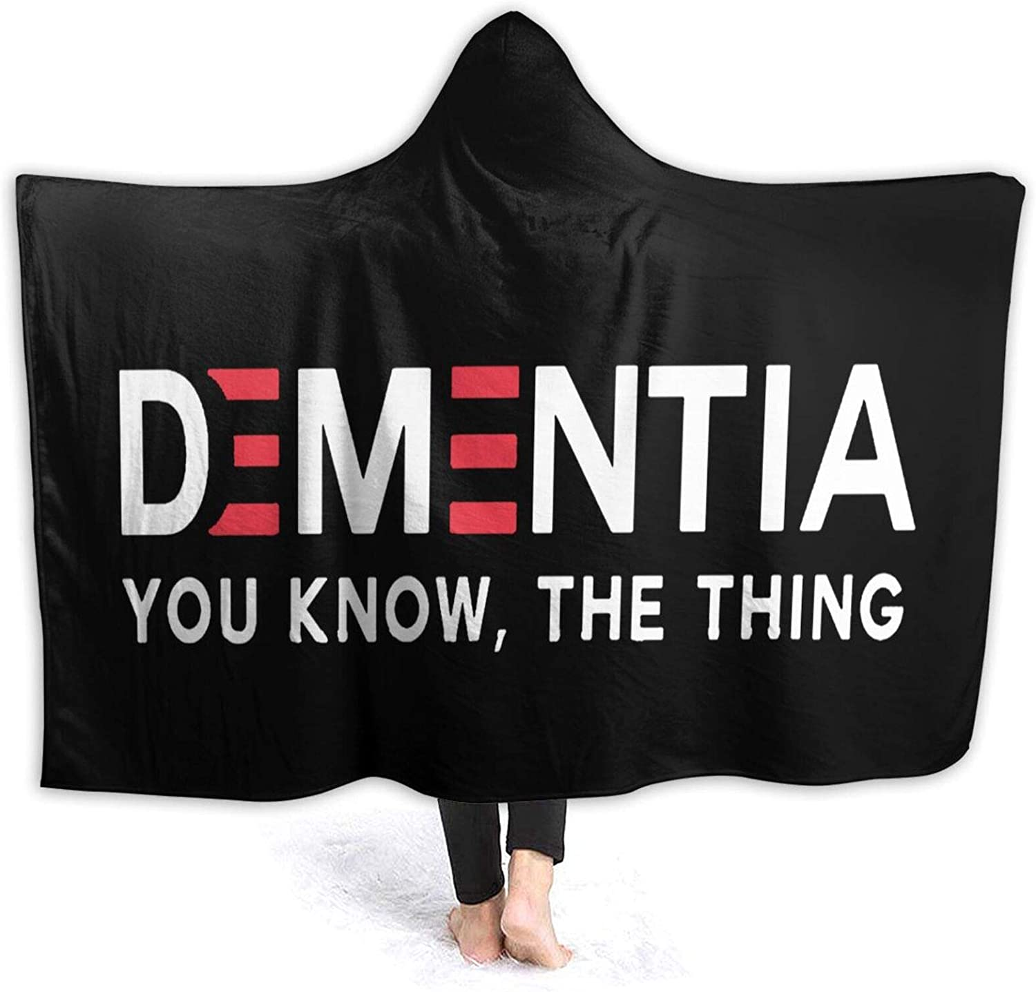 Dementia You Know The Thing Cheap bargain Stylish Sofa Wearable Blanket Genuine Throw