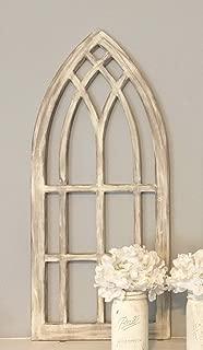 Farmhouse arched window frame
