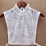 ATUCCO Faux Cols Lace Fake Collars Frauen Pullover Sweatshirt Hollow Out Kragen Zubehörje Bluse...