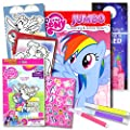 My Little Pony Colouring Book with Take-N-Play Set 96-page…