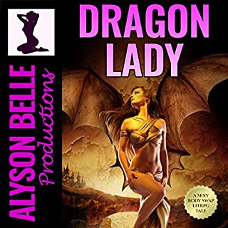 Dragon Lady: A Gender Swapped LitRPG Adventure audiobook cover art