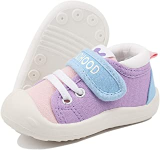 DEBAIJIA Bebé Primeros Pasos Zapatos 1-4 años Niños Zapatos Niños Niñas Suave Suela Antideslizante Algodón Lona Malla Tran...