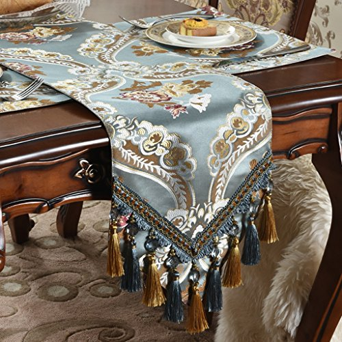 Li Ye Feng Shop Jacquard tafelkleden tafelvlag koffielaken doek handdoek plant bloemen suède elegant uitstekend high-end