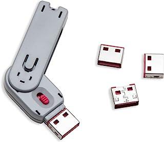 Syba USB Port Blocker with 1 Key and 4 USB Lock - SY-ACC20165
