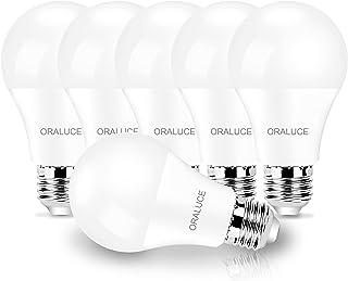 LED電球 E26口金 9W 900lm 60W形相当 高輝度 電球色 3000K 広配光タイプ 高演色 省エネ 密閉形器具対応 調光不可 2年保証 6個入